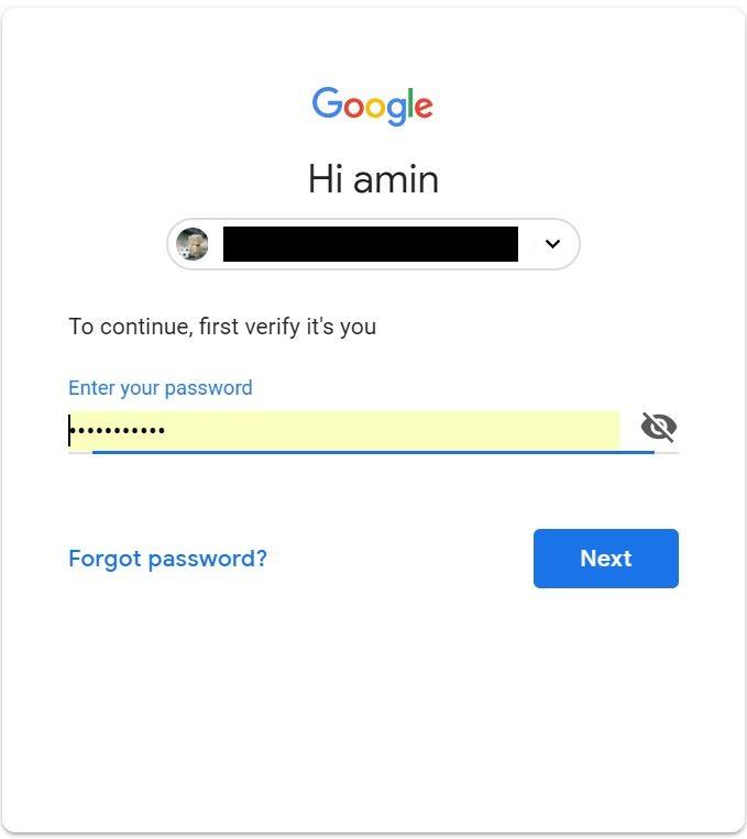 تغییر شماره تلفن در جیمیل در کمتر از 1 دقیقه