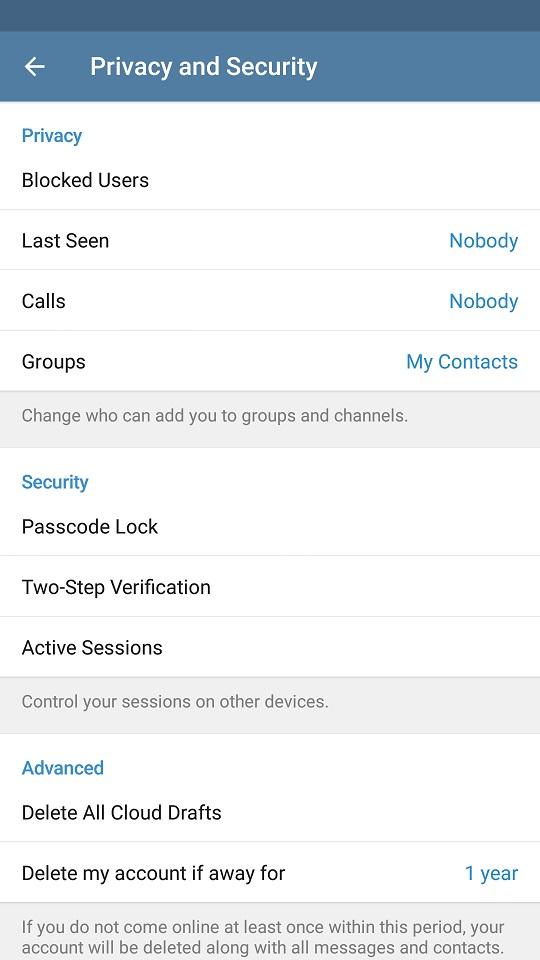 گرفتن کد تلگرام از طریق ایمیل