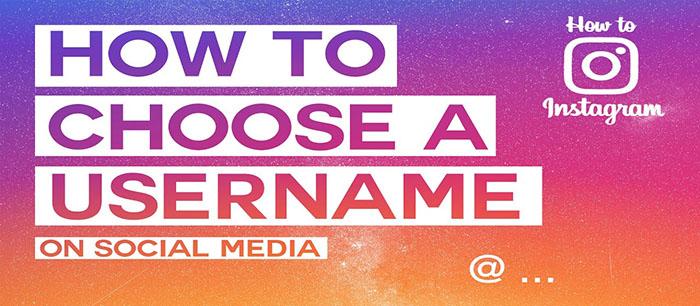 انتخاب اسم برای پروفایل شبکه های اجتماعی با چند راه کار ساده