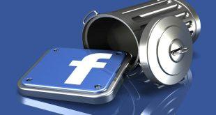 دیلیت اکانت فیسبوک