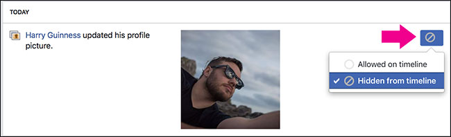 پروفایل فیسبوک