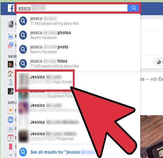 درخواست دوستی فیسبوک