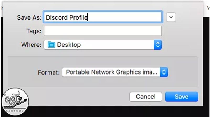 روش دانلود عکس پروفایل در دیسکورد