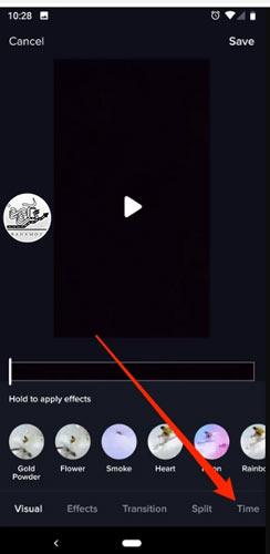 روش معکوس کردن ویدیو در تیک تاک