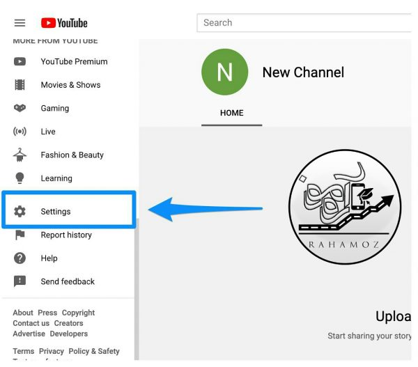 مدیریت چند کانال یوتیوب